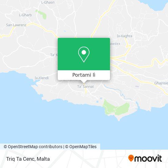 Mappa Triq Ta Cenc