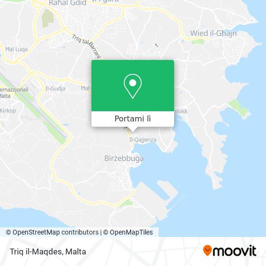 Mappa Triq il-Maqdes