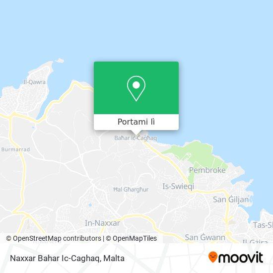 Mappa Naxxar Bahar Ic-Caghaq