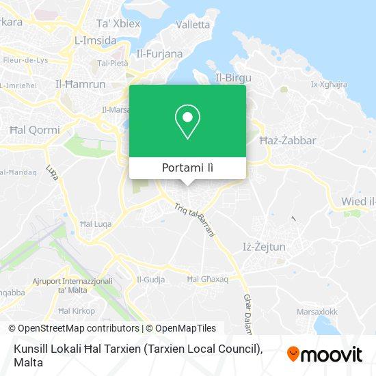 Mappa Kunsill Lokali Ħal Tarxien (Tarxien Local Council)