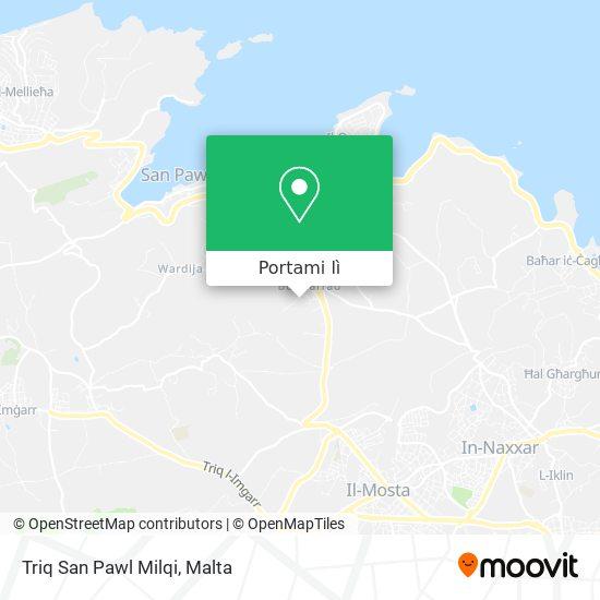 Mappa Triq San Pawl Milqi