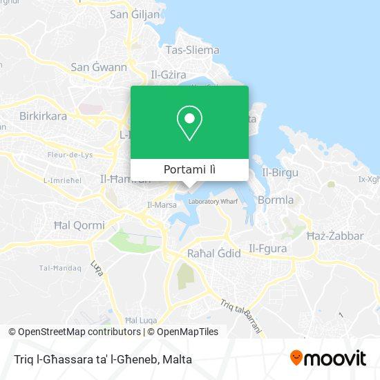 Mappa Triq l-Għassara ta' l-Għeneb