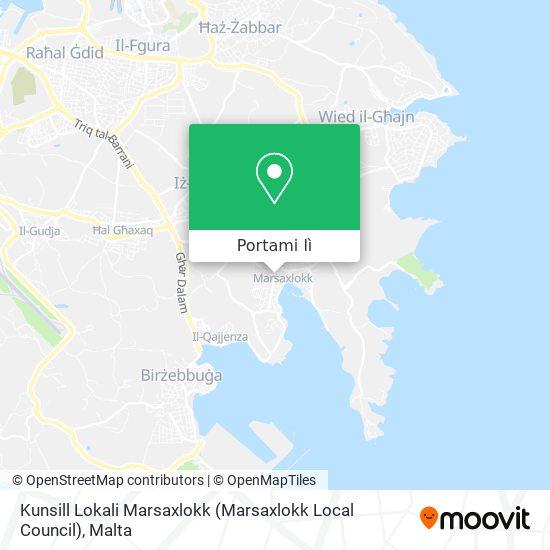 Mappa Kunsill Lokali Marsaxlokk (Marsaxlokk Local Council)