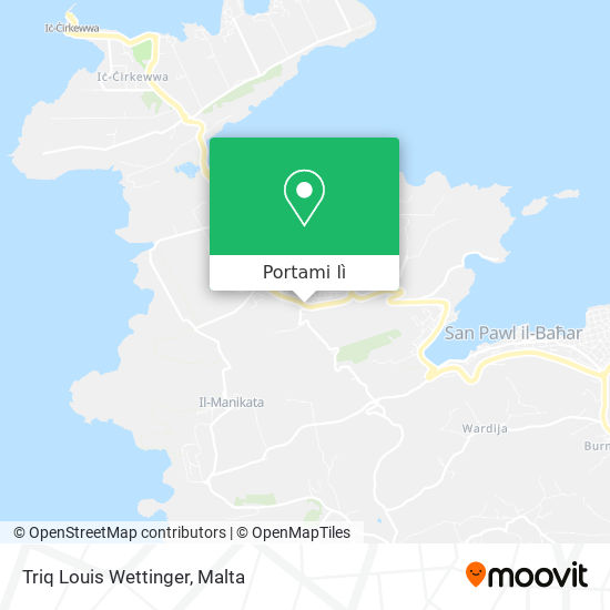 Mappa Triq Louis Wettinger