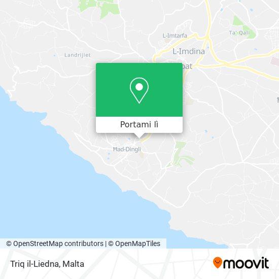 Mappa Triq il-Liedna