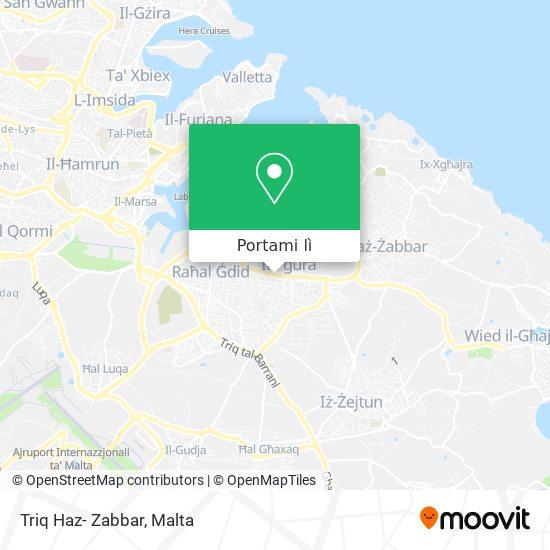 Mappa Triq Haz- Zabbar