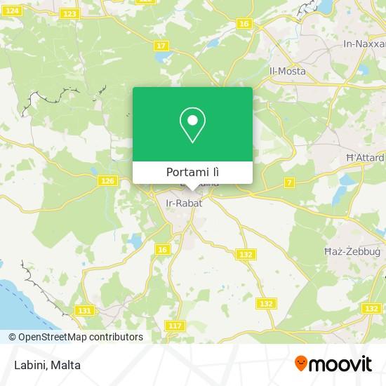Mappa Labini