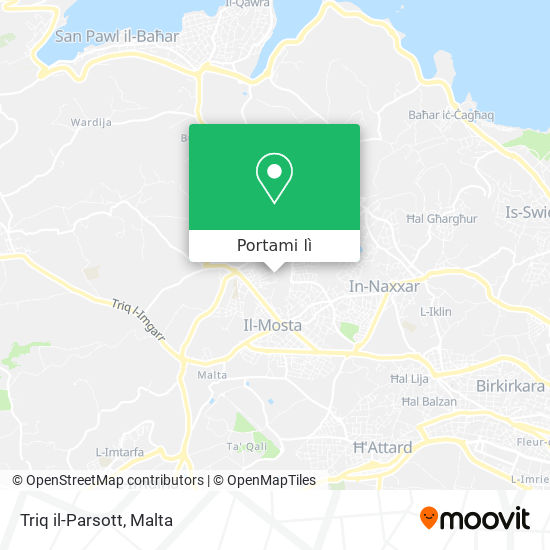 Mappa Triq il-Parsott