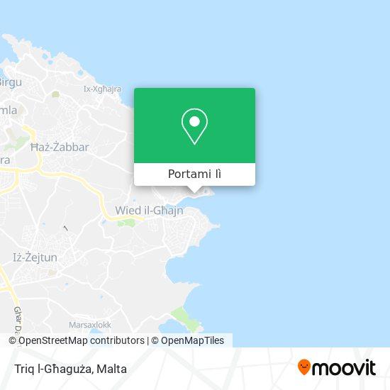 Mappa Triq l-Għaguża