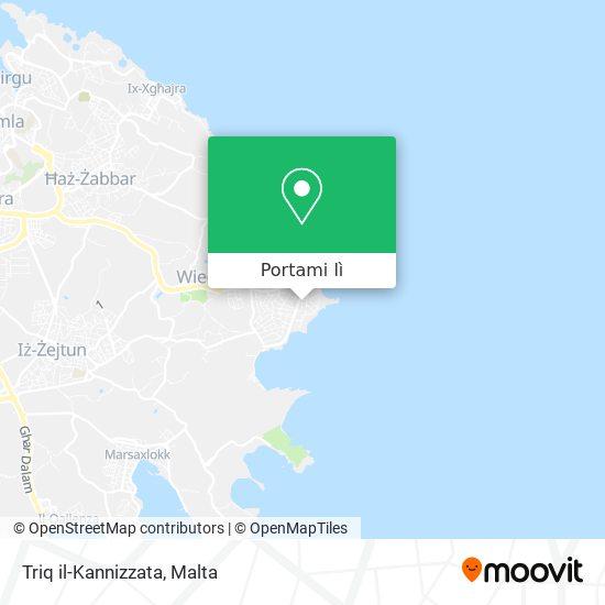 Mappa Triq il-Kannizzata