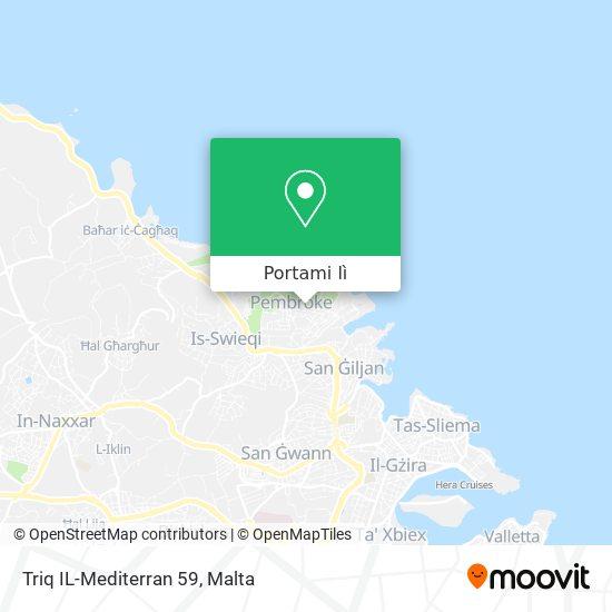 Mappa Triq IL-Mediterran 59