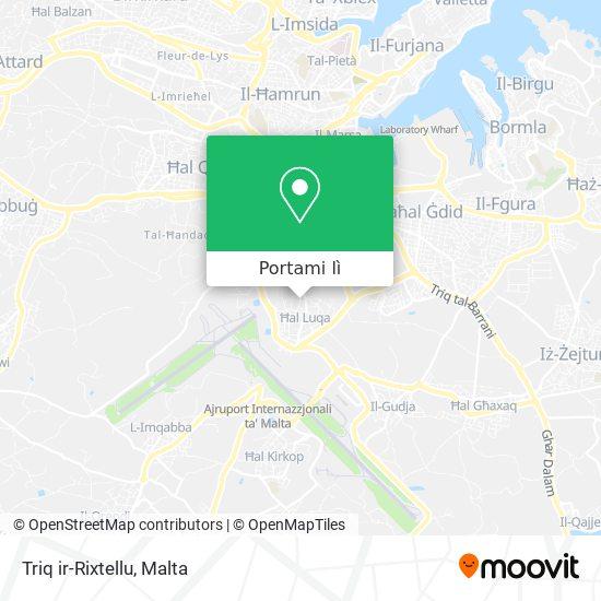 Mappa Triq ir-Rixtellu