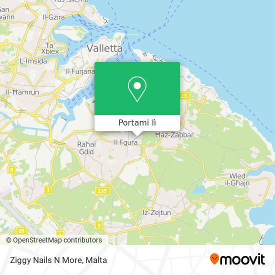 Mappa Ziggy Nails N More