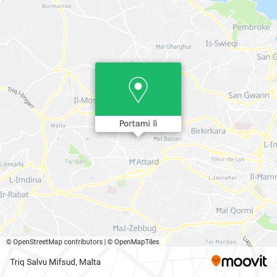 Mappa Triq Salvu Mifsud