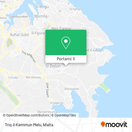 Mappa Triq il-Kemmun Ħelu