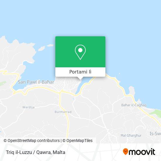 Mappa Triq il-Luzzu / Qawra