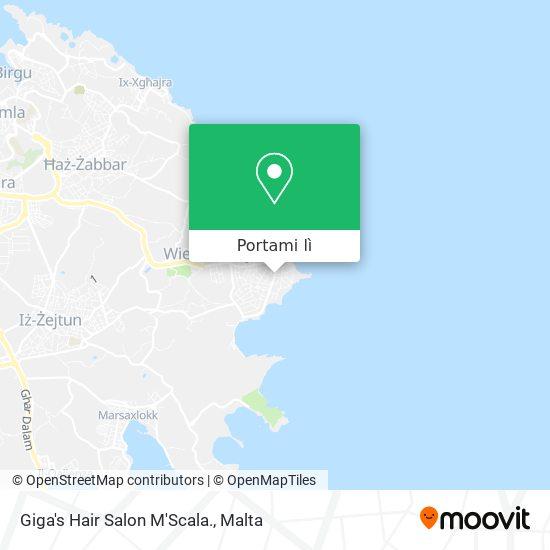 Mappa Giga's Hair Salon M'Scala.