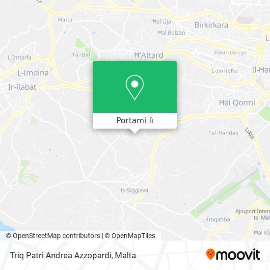 Mappa Triq Patri Andrea Azzopardi
