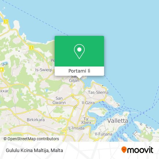 Mappa Gululu Kcina Maltija