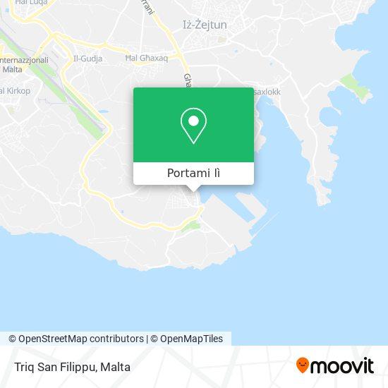 Mappa Triq San Filippu