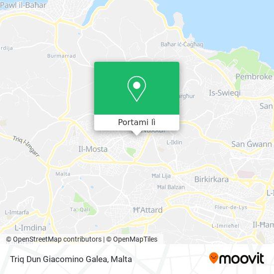 Mappa Triq Dun Giacomino Galea