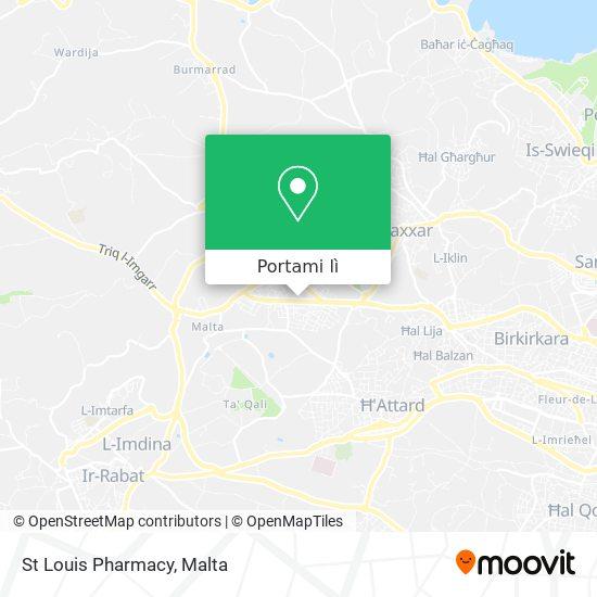 Mappa St Louis Pharmacy