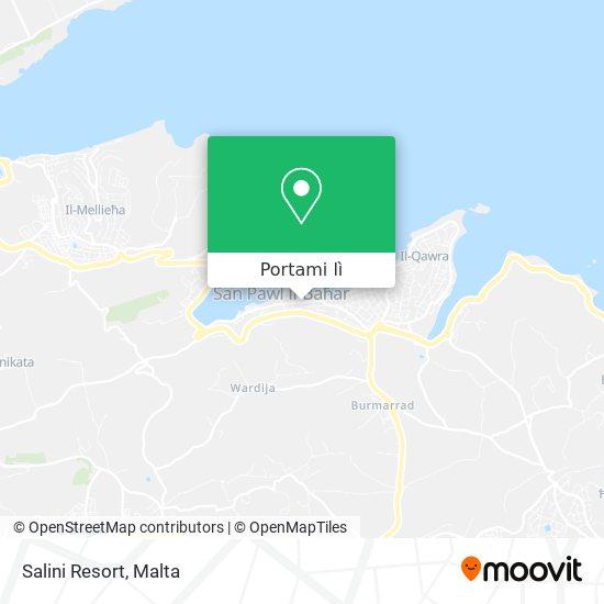 Mappa Salini Resort