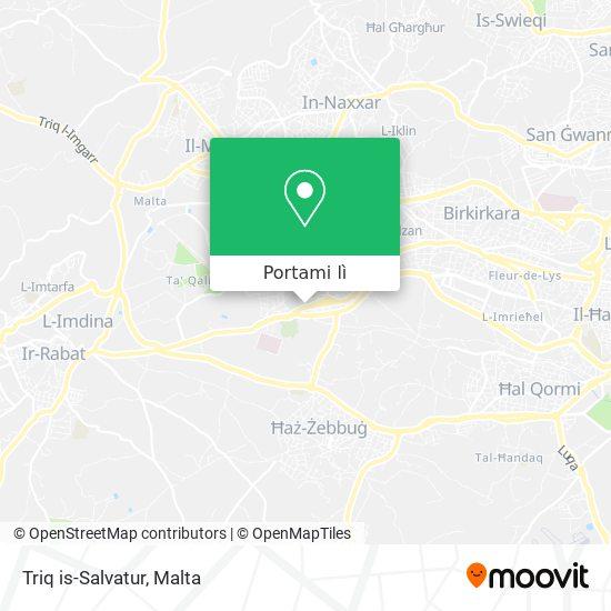 Mappa Triq is-Salvatur