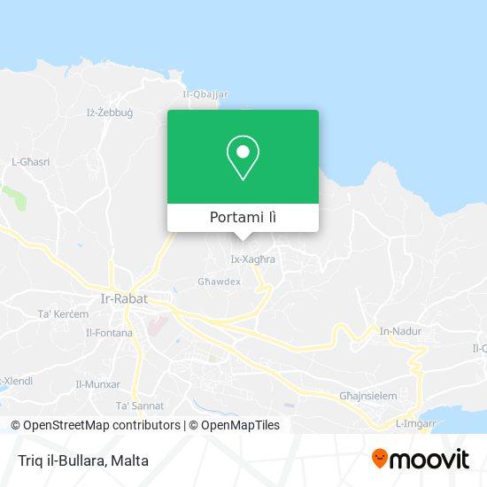 Mappa Triq il-Bullara