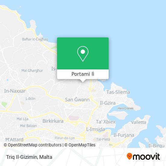 Mappa Triq Il-Gizimin