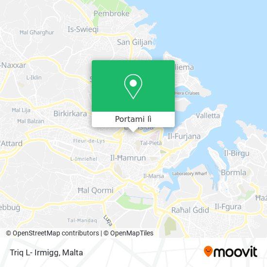 Mappa Triq L- Irmigg