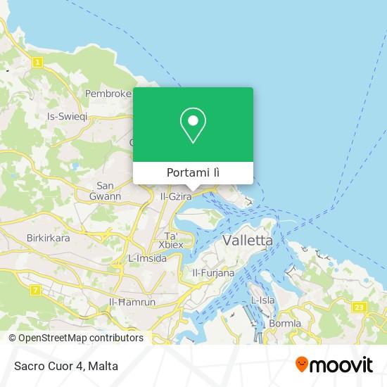 Mappa Sacro Cuor 4