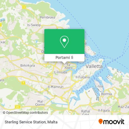 Mappa Sterling Service Station