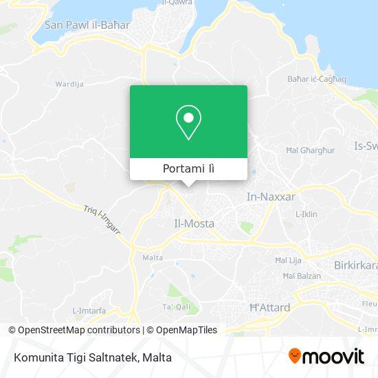 Mappa Komunita Tigi Saltnatek