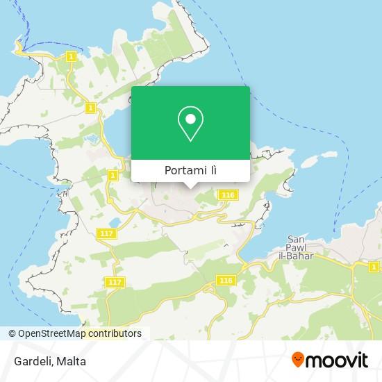 Mappa Gardeli