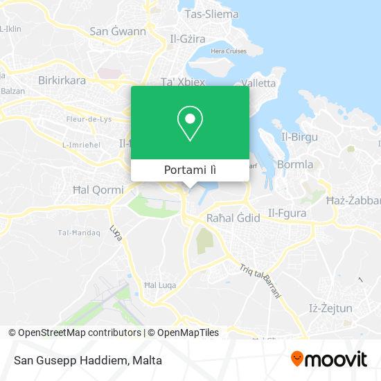 Mappa San Gusepp Haddiem