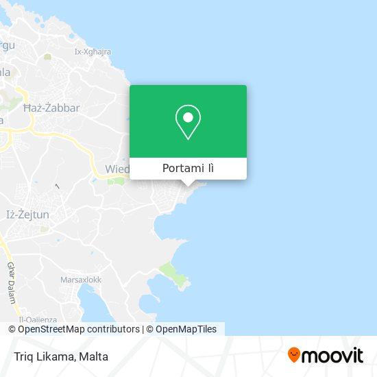 Mappa Triq Likama