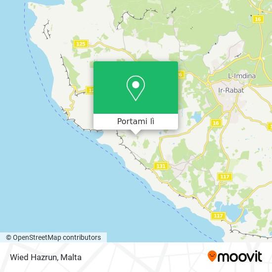 Mappa Wied Hazrun