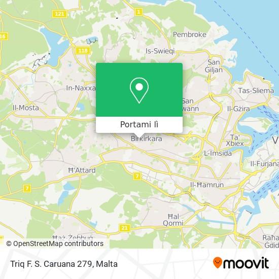 Mappa Triq F. S. Caruana 279