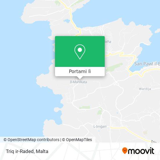 Mappa Triq ir-Raded