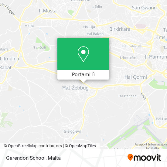 Mappa Garendon School