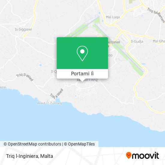 Mappa Triq l-Inginiera