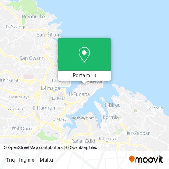 Mappa Triq l-Inginieri