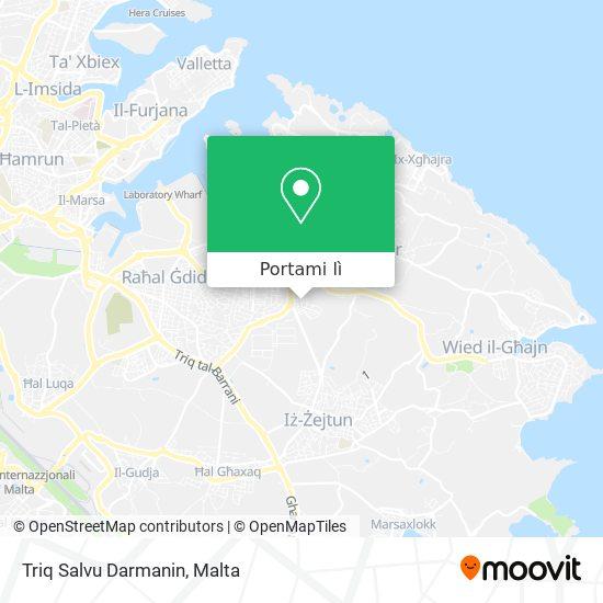 Mappa Triq Salvu Darmanin