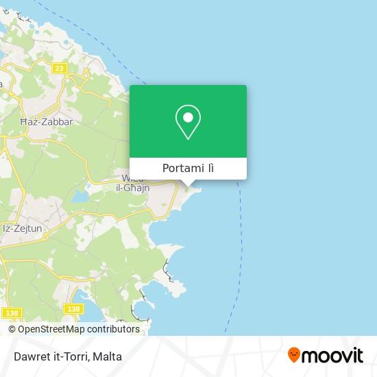 Mappa Dawret it-Torri