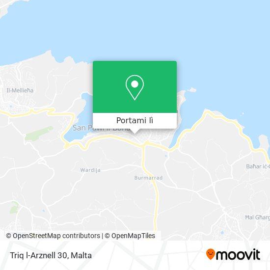 Mappa Triq l-Arznell 30