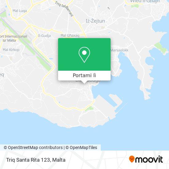 Mappa Triq Santa Rita 123