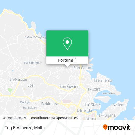 Mappa Triq F. Assenza