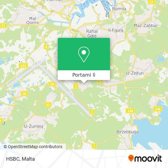 Mappa HSBC