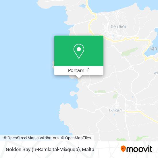 Mappa Golden Bay (Ir-Ramla tal-Mixquqa)